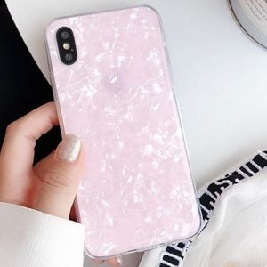 NEW iPhone 7/8 Pink Conch Shell Case